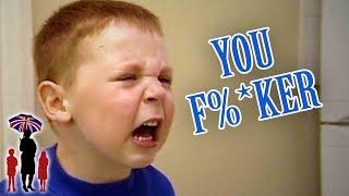 Battling, Potty Mouth Kids Have Broken Mom | Supernanny