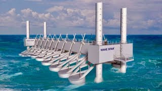 Ocean Power Plant Generates Energy From Waves - Unlimited Cheap Clean Electricity