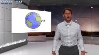 Daniel Tosh trolls Flat Earth on Tosh.0 - ODD Mirror - Mark Sargent ✅