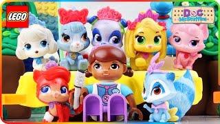 ♥ Doc McStuffins & Disney PALACE PETS Whisker Haven LEGO Cartoon Animation for Kids