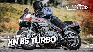 SUZUKI XN 85 TURBO - 1982 | TEST RETRO