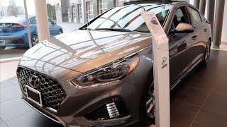 2018 Hyundai Sonata Sport 2.0T Ultimate In-Depth Tour