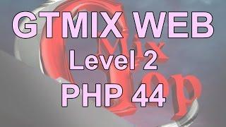 دورة تصميم و تطوير مواقع الإنترنت PHP- د 44 -البرمجه الكائنيه -التنفيذ التلقائي  construct