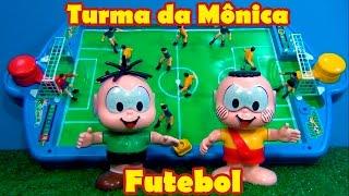 Turma da Mônica FUTEBOL NOVO !! Cebolinha x Cascão