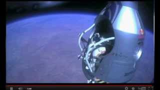 Man Falls from Space to Earth