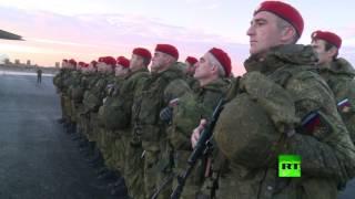 كتيبة من الشرطة العسكرية الروسية تصل حلب