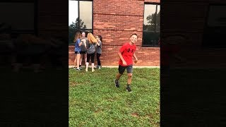 kid tries to impress his crush, goes very wrong..