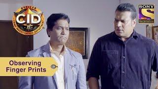 Your Favorite Character   Abhijeet & Daya Look For Finger Prints   CID