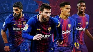 MSCD | Messi - Suarez - Coutinho - Dembele | Goals , Skills and Assists | 2017 / 18
