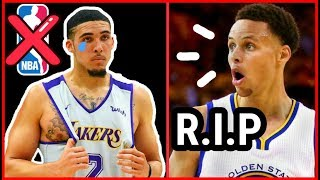 SHOCKING: LIANGELO BALL JUST ENDED HIS LIFE...AND CAREER! (steph curry gets emotional)