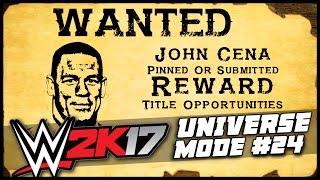 WWE 2K17 | Universe Mode - 'BOUNTY ON JOHN CENA?!' | #24