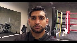 "Amir Khan: ""Kell Brook fighting me could be BAD for his health"""