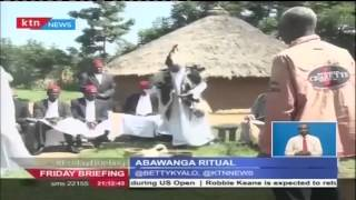 ABAWANGA RITUA: King of the Abawanga blesses farm produce