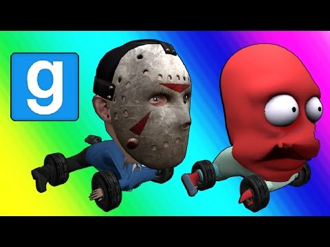 Gmod Hide and Seek - Car Edition! (Garry's Mod Funny Moments)