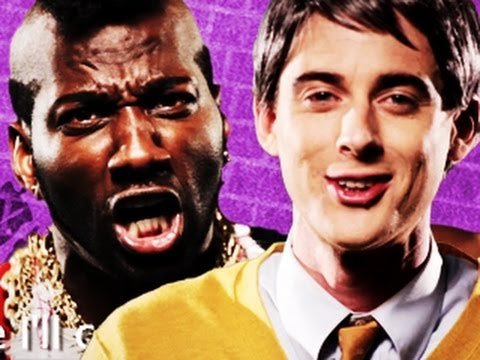 Mr T vs Mr Rogers. Epic Rap Battles of History #13