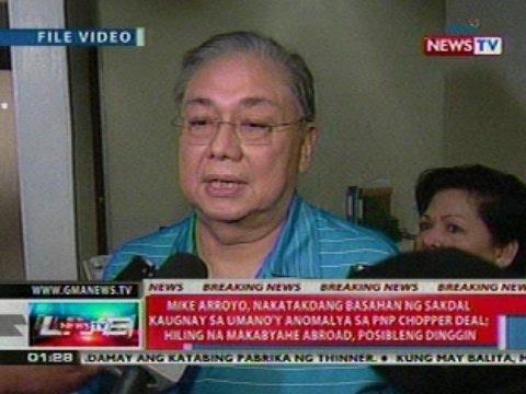 NTL: Atty. Mike Arroyo, dumating na sa   Sandigang Bayan