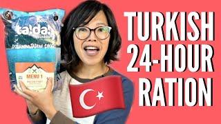 🇹🇷TURKISH 24-Hour MRE Ration Taste Test