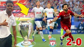 OMG SALAH!! LIVERPOOL VS TOTTENHAM 2-0 CHAMPIONS LEAGUE FINAL 2019 FOOTBALL MATCH HIGHLIGHTS