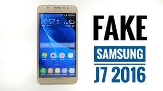 FAKE Samsung Galaxy J7 2016 Review - BEWARE 1:1 Replica !