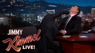 Jason Statham Punches Jimmy Kimmel