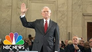 Jeff Sessions Opens Hearing: Attorney General 'Cannot Be A Mere Rubber Stamp' | NBC News
