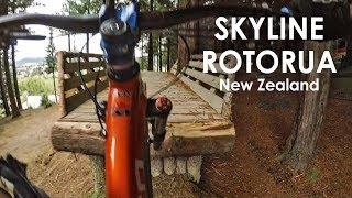FUN DH TRAILS at Skyline Mountain Bike Park - Rotorua New Zealand