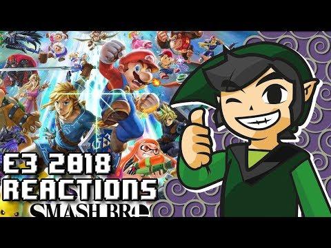 WiiDude83 s Reaction to Nintendo E3 Super Smash Bros Ultimate