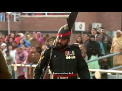 Wagah Attari Border Closing ceremony by India & Pakistan