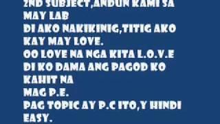 hambog classmate lyrics