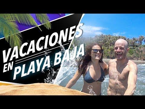 vacaciones en playa baja