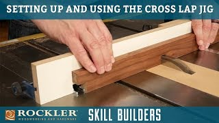 How to Cut Cross Lap Joints | Rockler Skill Builders