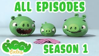 Angry Birds | Piggy Tales | All Episodes Mashup - Season 1