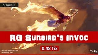 MTG Ultra Budget (0.48 Tix) RG Sunbird's Invocation (7Drops tribal) [Fr-En] // Standard Deck Tech