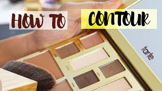 TARTE COSMETICS: How to Contour with the Clay Play Face Shaping Palette
