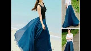 Trend Model Rok Panjang Wanita Terbaru