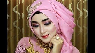 Hijab Wisuda Simple, Cantik,anggun,Mewahz Dan Elegan Dengan Menggunakan Hijab Segi Empat 1
