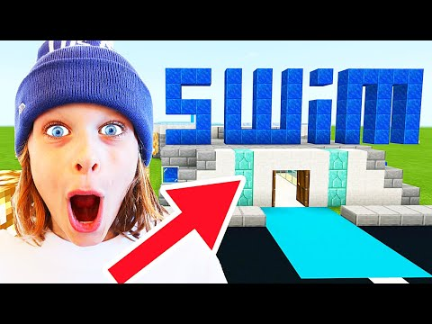 WHICH NORRIS NUT BUILDS BEST SWIM CENTER Minecraft Gaming w The Norris Nuts