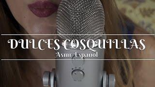 ⭐️ ASMR ESPAÑOL ⭐️❤️ Dulces sonidos cosquillosos en tus oídos ❤️ Super binaural audio  ❤️