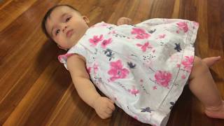 AMAZING 3 months old baby girl Talking NEVER seen before! Liana