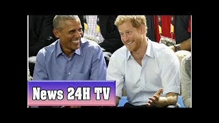 Prince harry asked on live radio if he plans to invite obama to his wedding | News 24H TV