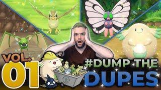DITCHING SHINY POKÈMON IN LGPE! #DumpTheDupes Volume 1