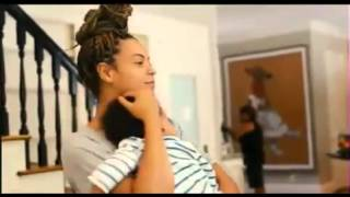 Beyonce and Blue Ivy VIDEO FOOTAGE - Life is but a dream