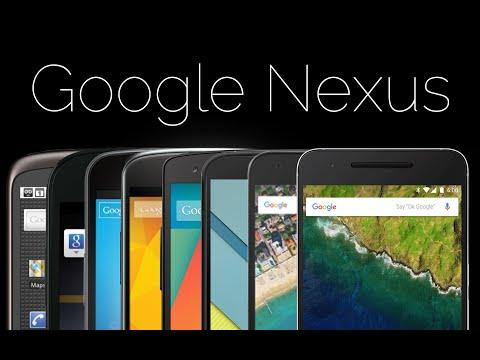 Six years of Nexus A Google phone history