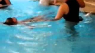 Calvin zwemles - 5 sept 2011