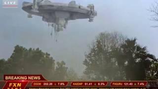 real video Alian's  UFO