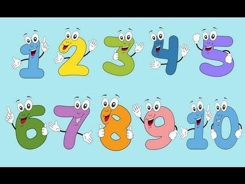 Los números en español del 1 al 10 Learn numbers in spanish