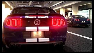 مقاومة موستنج شلبي جي تي 500 ضد جي تي ار بلاك ادشن |  Shelby GT500 VS GT-R Black Edition | GT6