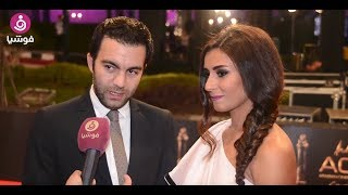 هل منع شريف رمزي زوجته ريهام أيمن من التمثيل؟