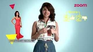 Fashion test With Priyanka Chopra | LIGHTS CAMERA FASHION | EXCLUSIVE