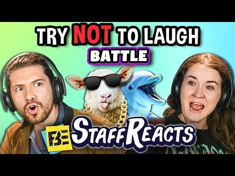 Try To Watch This Without Laughing or Grinning Battle 4 ft. FBE Staff